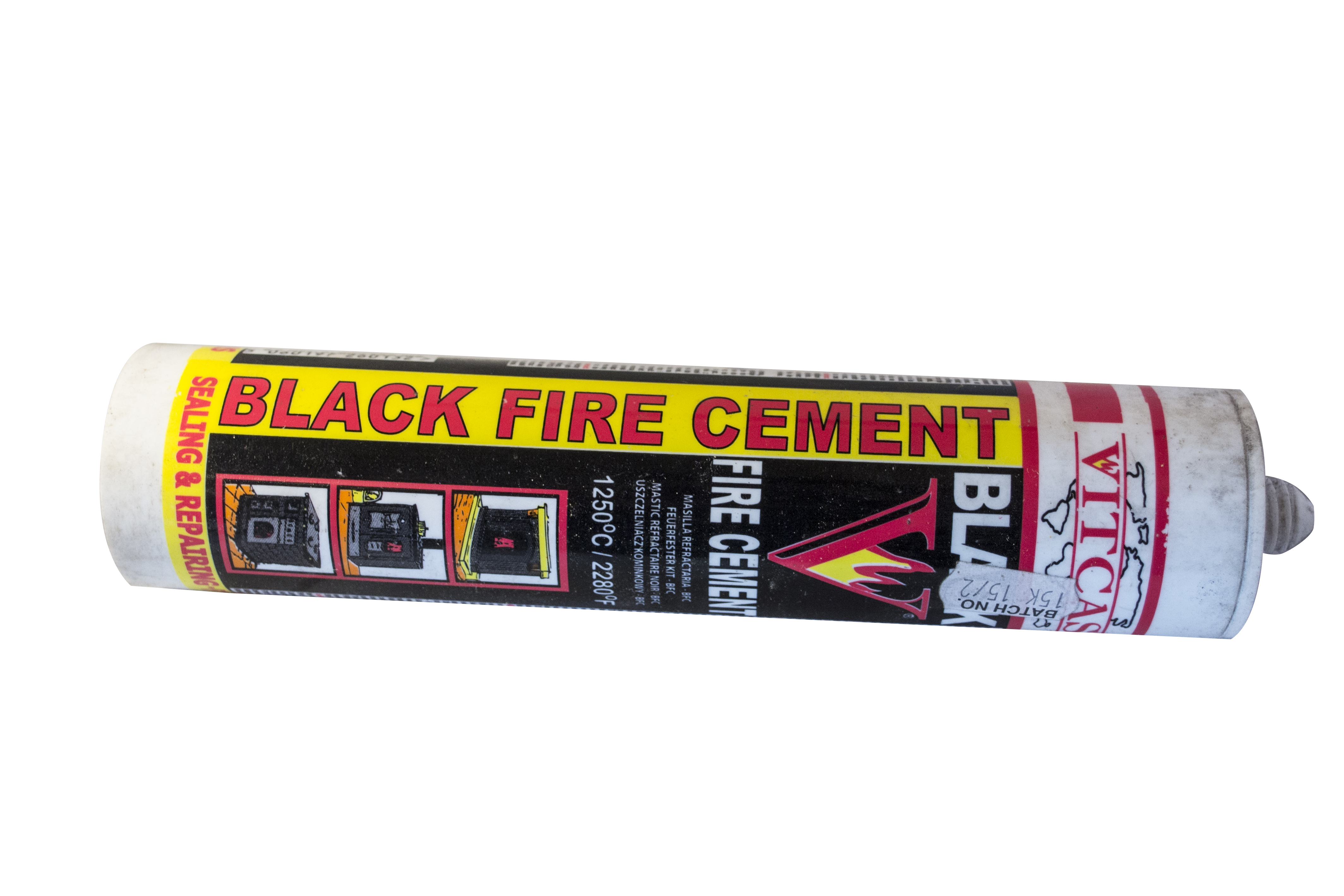 High Temperature Black Fire Cement